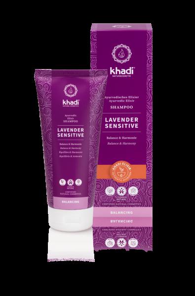 khadi Ayurvedisches Elixier Shampoo Lavender Sensitive
