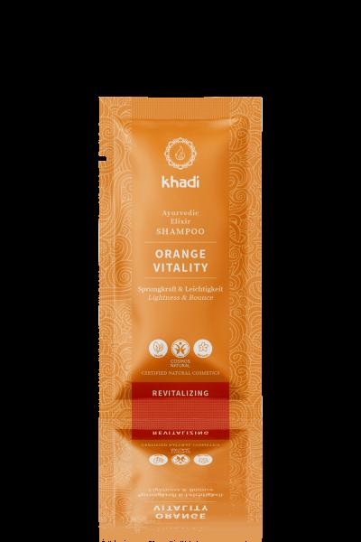 khadi Ayurvedic Elixir Shampoo Orange Vitality 10ml
