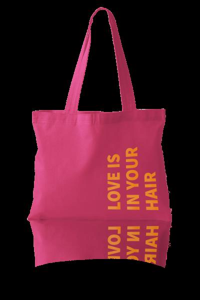 khadi Beachbag pink