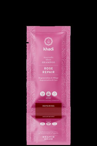 khadi Ayurvedic Elixir Shampoo Rose Repair 10ml