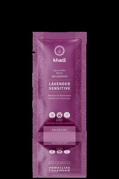 khadi Ayurvedic Elixir Shampoo Lavender Sensitive 10ml
