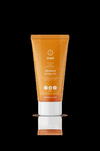 khadi Ayurvedic Elixir Shampoo Orange Vitality 30ml