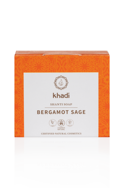 khadi Shanti Soap Bergamot Sage