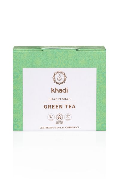khadi Shanti Soap Green Tea