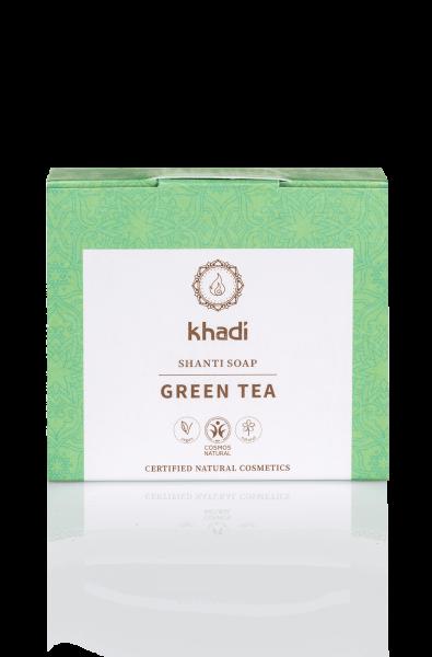 khadi Shanti Soap Green Tea