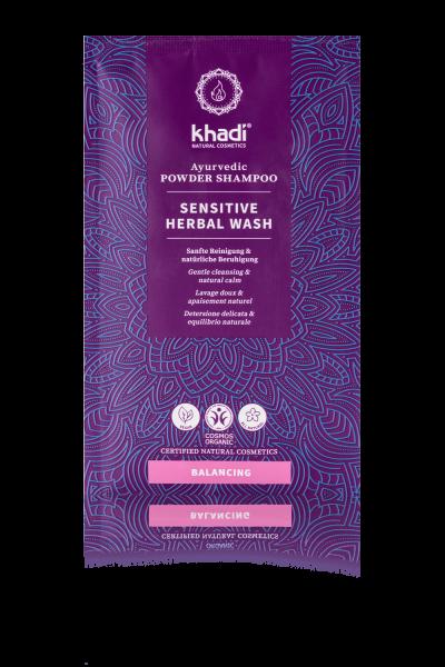khadi Ayurvedisches Pulvershampoo Sensitive Herbal Wash
